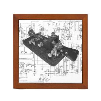 Portalápices Organizador esquemático dominante de radio del