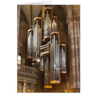 Órgano de la catedral de Friburgo Tarjeta