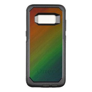 Orgullo abstracto elegante de Ombre del arco iris Funda Commuter De OtterBox Para Samsung Galaxy S8