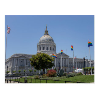 Orgullo de ayuntamiento de San Francisco Postal