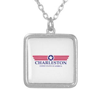 Orgullo de Charleston WV Colgante Cuadrado