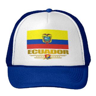 """""""Orgullo de Ecuador """" Gorros Bordados"""
