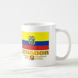 """""""Orgullo de Ecuador """" Taza De Café"""