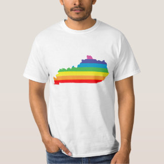 orgullo de Kentucky. rayado Camiseta