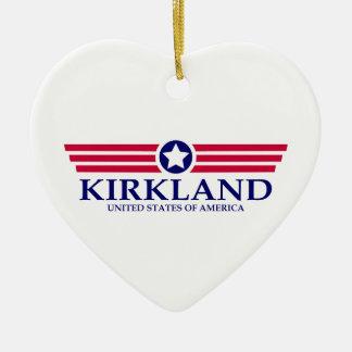 Orgullo de Kirkland Adorno De Cerámica En Forma De Corazón