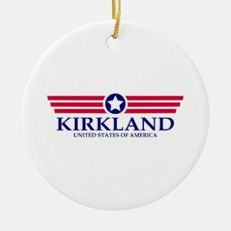 Orgullo de Kirkland Adorno Redondo De Cerámica