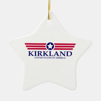 Orgullo de Kirkland Adorno De Cerámica En Forma De Estrella