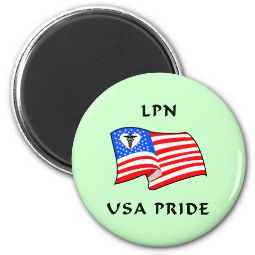 Orgullo de LPN los E.E.U.U. Imanes Para Frigoríficos