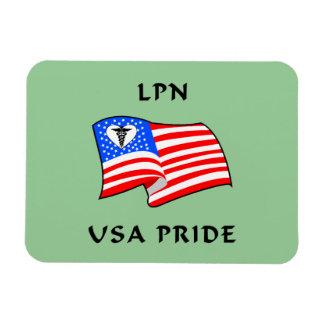 Orgullo de LPN los E.E.U.U. Imán