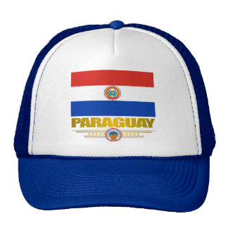 """""""Orgullo de Paraguay """" Gorras De Camionero"""