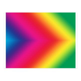 Orgullo del arco iris postal