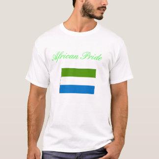 Orgullo del Sierra Leone Camiseta