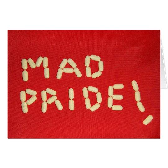 ¡Orgullo enojado! Tarjeta De Felicitación