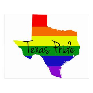 Orgullo gay de Tejas Postal