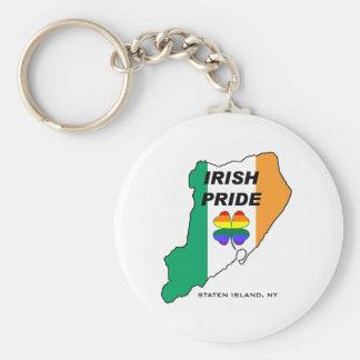 Orgullo gay irlandés de Staten Island Llaveros Personalizados