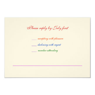 orgullo gay RSVP del arco iris LGBT del boda 3.5x5 Invitación 8,9 X 12,7 Cm
