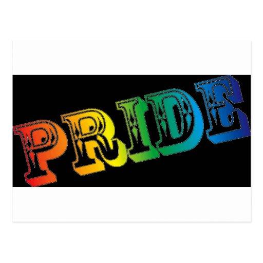 Orgullo gay postales