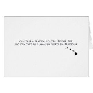 Orgullo hawaiano tarjetas