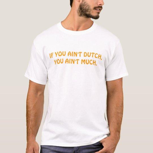 Orgullo holandés camiseta