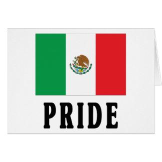 Orgullo mexicano tarjeta