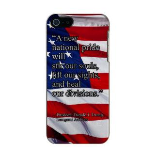 ORGULLO NACIONAL PRES45 FUNDA PARA iPhone 5 INCIPIO FEATHER SHINE