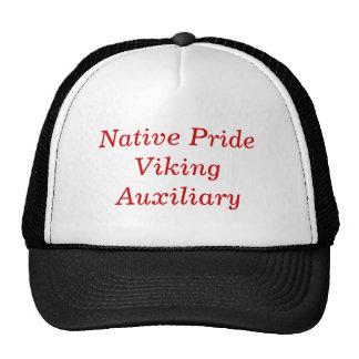 Orgullo nativo, auxiliar de Viking Gorros Bordados