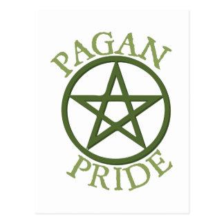 Orgullo pagano postal
