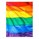 Orgullo sólido - primer de la bandera del orgullo postal