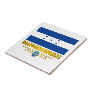 """""""Orgullo"""" Tle de cerámica de Honduras Azulejo Cuadrado Pequeño"""