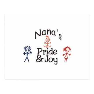 Orgullo y alegría de Nanas Postal