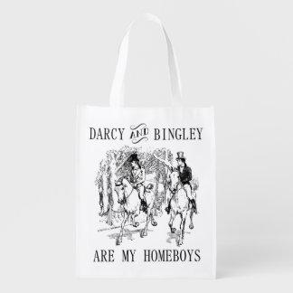 Orgullo y la bolsa de asas de Sr. Darcy y de Sr.
