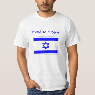 orgulloso apoyar Israel Camiseta