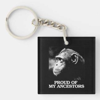 Orgulloso de mis antepasados - evolución - - llavero