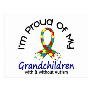 Orgulloso de mis nietos con y sin autismo postal