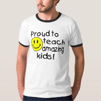¡Orgulloso enseñar a niños asombrosos! Camisetas