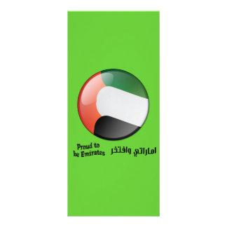 Orgulloso ser marca de libro de los emiratos lona