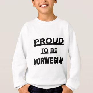 Orgulloso ser noruego sudadera