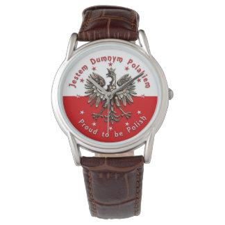 Orgulloso ser reloj polaco
