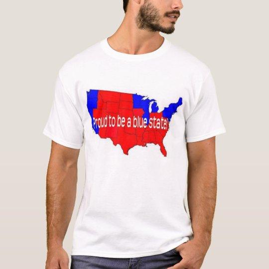 ¡Orgulloso ser un estado azul! Camiseta