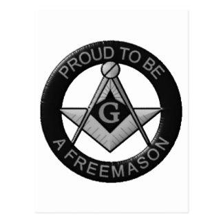 Orgulloso ser un Freemason Postal