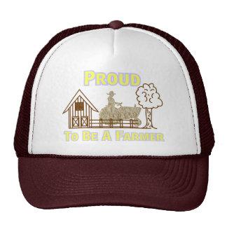 Orgulloso ser un gorra/un casquillo del granjero gorras de camionero