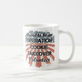 Orgulloso ser una taza voluntaria