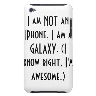 Orgulloso una galaxia cubierta para iPod de barely there
