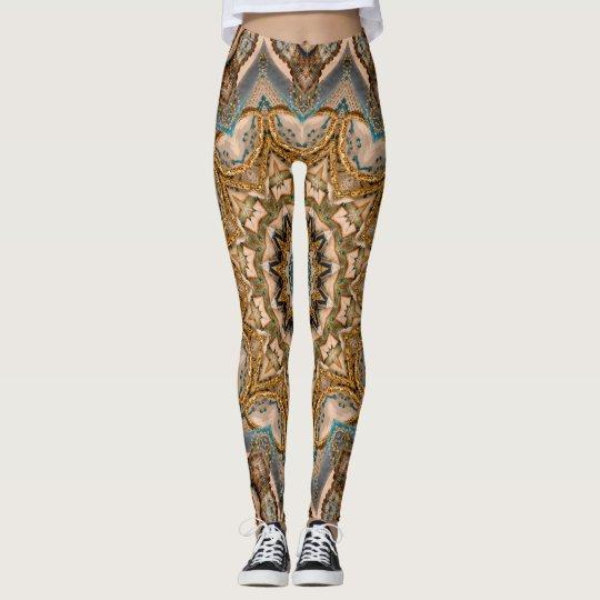 Oriental - 2 polainas leggings