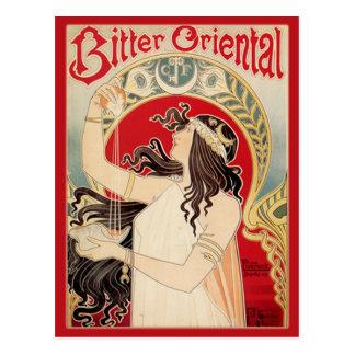 Oriental amargo (rojo) postal
