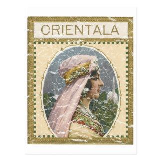 Orientala - apenado tarjetas postales