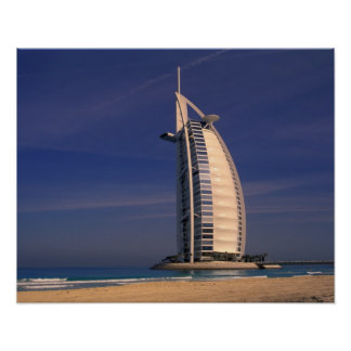 Oriente Medio, United Arab Emirates, Dubai, Burj Póster
