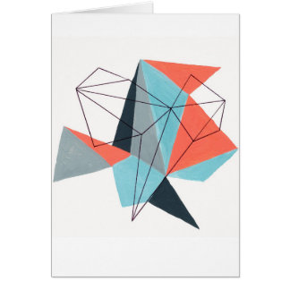 Origami 1 tarjeta de felicitación