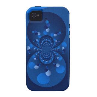 Origen del azul Case-Mate iPhone 4 carcasa