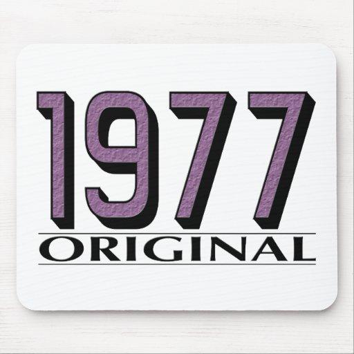 Original 1977 alfombrillas de ratón